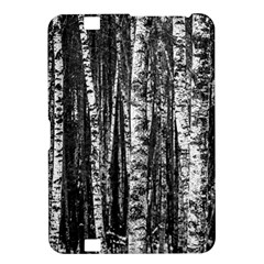 Birch Forest Trees Wood Natural Kindle Fire Hd 8 9  by BangZart