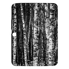 Birch Forest Trees Wood Natural Samsung Galaxy Tab 3 (10 1 ) P5200 Hardshell Case  by BangZart