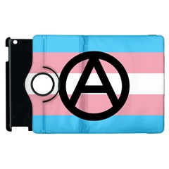 Anarchist Pride Apple iPad 2 Flip 360 Case by TransPrints