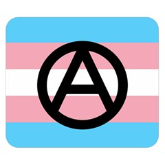 Anarchist Pride Double Sided Flano Blanket (small)  by TransPrints