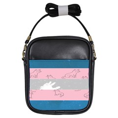 Pride Flag Girls Sling Bags by TransPrints