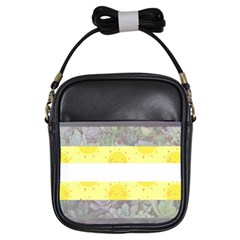 Cute Flag Girls Sling Bags by TransPrints