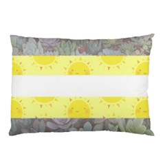 Cute Flag Pillow Case (two Sides) by TransPrints