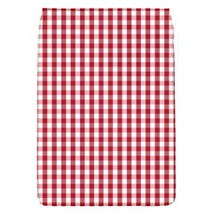 Usa Flag Red Blood Large Gingham Check Flap Covers (s)  by PodArtist