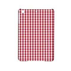 Usa Flag Red Blood Large Gingham Check Ipad Mini 2 Hardshell Cases by PodArtist