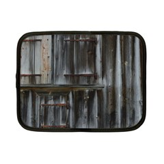 Alpine Hut Almhof Old Wood Grain Netbook Case (small)  by BangZart