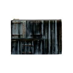 Alpine Hut Almhof Old Wood Grain Cosmetic Bag (medium)  by BangZart