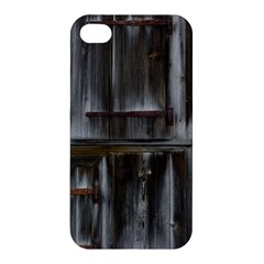 Alpine Hut Almhof Old Wood Grain Apple Iphone 4/4s Hardshell Case by BangZart