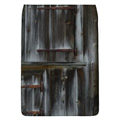 Alpine Hut Almhof Old Wood Grain Flap Covers (s)  by BangZart
