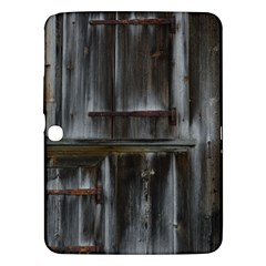 Alpine Hut Almhof Old Wood Grain Samsung Galaxy Tab 3 (10 1 ) P5200 Hardshell Case  by BangZart