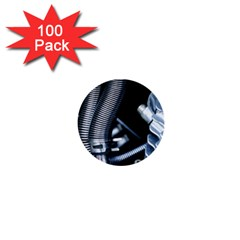 Motorcycle Details 1  Mini Buttons (100 Pack)