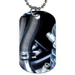 Motorcycle Details Dog Tag (two Sides) by BangZart