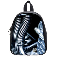 Motorcycle Details School Bags (small)  by BangZart
