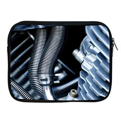 Motorcycle Details Apple Ipad 2/3/4 Zipper Cases by BangZart
