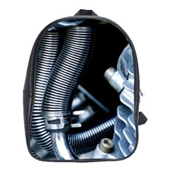 Motorcycle Details School Bags (xl)  by BangZart