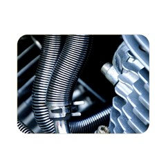 Motorcycle Details Double Sided Flano Blanket (mini)  by BangZart
