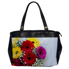 Flowers Gerbera Floral Spring Office Handbags by BangZart