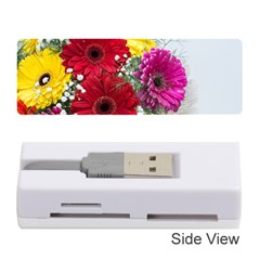 Flowers Gerbera Floral Spring Memory Card Reader (stick)  by BangZart
