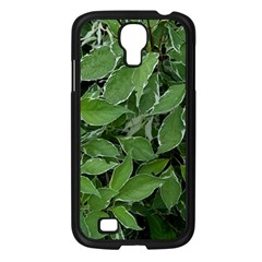 Texture Leaves Light Sun Green Samsung Galaxy S4 I9500/ I9505 Case (black) by BangZart