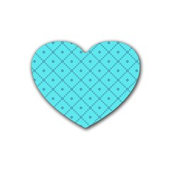 Pattern Background Texture Heart Coaster (4 Pack)  by BangZart