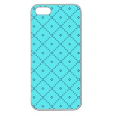 Pattern Background Texture Apple Seamless Iphone 5 Case (clear) by BangZart