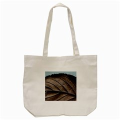 Leaf Veins Nerves Macro Closeup Tote Bag (cream) by BangZart