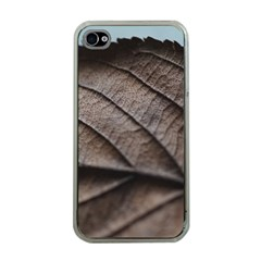 Leaf Veins Nerves Macro Closeup Apple Iphone 4 Case (clear) by BangZart