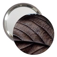 Leaf Veins Nerves Macro Closeup 3  Handbag Mirrors by BangZart