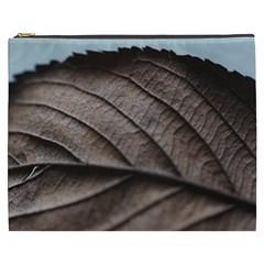 Leaf Veins Nerves Macro Closeup Cosmetic Bag (xxxl)  by BangZart