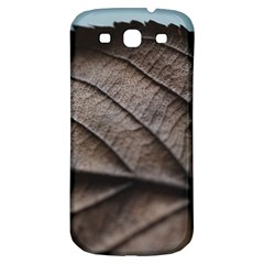 Leaf Veins Nerves Macro Closeup Samsung Galaxy S3 S Iii Classic Hardshell Back Case by BangZart