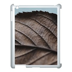 Leaf Veins Nerves Macro Closeup Apple Ipad 3/4 Case (white) by BangZart