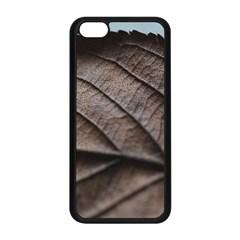 Leaf Veins Nerves Macro Closeup Apple Iphone 5c Seamless Case (black) by BangZart