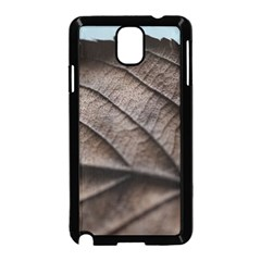 Leaf Veins Nerves Macro Closeup Samsung Galaxy Note 3 Neo Hardshell Case (black) by BangZart