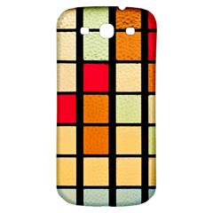 Mozaico Colors Glass Church Color Samsung Galaxy S3 S Iii Classic Hardshell Back Case by BangZart