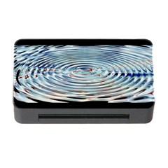 Wave Concentric Waves Circles Water Memory Card Reader With Cf by BangZart