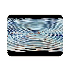 Wave Concentric Waves Circles Water Double Sided Flano Blanket (mini)  by BangZart