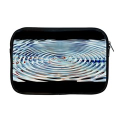 Wave Concentric Waves Circles Water Apple Macbook Pro 17  Zipper Case by BangZart