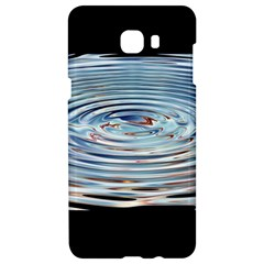 Wave Concentric Waves Circles Water Samsung C9 Pro Hardshell Case