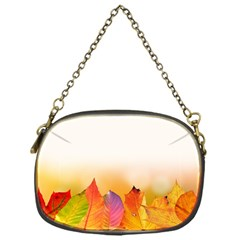 Autumn Leaves Colorful Fall Foliage Chain Purses (one Side)  by BangZart