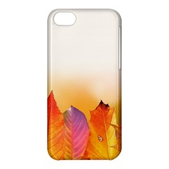 Autumn Leaves Colorful Fall Foliage Apple Iphone 5c Hardshell Case by BangZart