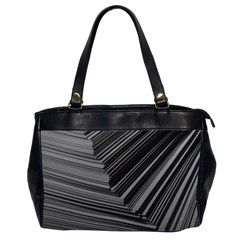 Paper Low Key A4 Studio Lines Office Handbags (2 Sides)  by BangZart