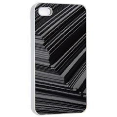 Paper Low Key A4 Studio Lines Apple Iphone 4/4s Seamless Case (white) by BangZart