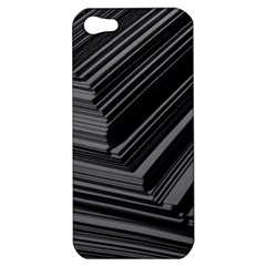 Paper Low Key A4 Studio Lines Apple Iphone 5 Hardshell Case by BangZart
