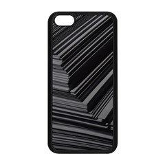 Paper Low Key A4 Studio Lines Apple Iphone 5c Seamless Case (black) by BangZart