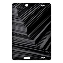 Paper Low Key A4 Studio Lines Amazon Kindle Fire Hd (2013) Hardshell Case by BangZart