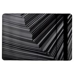 Paper Low Key A4 Studio Lines Ipad Air Flip by BangZart