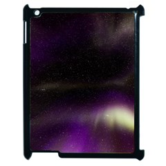 The Northern Lights Nature Apple Ipad 2 Case (black) by BangZart