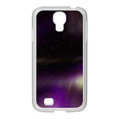 The Northern Lights Nature Samsung Galaxy S4 I9500/ I9505 Case (white) by BangZart