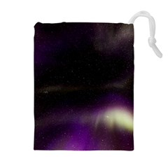 The Northern Lights Nature Drawstring Pouches (extra Large) by BangZart