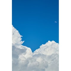 Sky Clouds Blue White Weather Air 5 5  X 8 5  Notebooks by BangZart